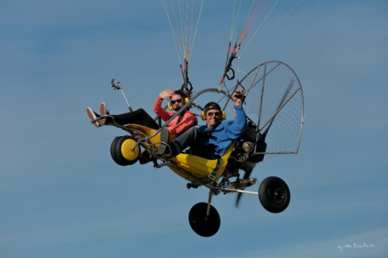Formation au brevet de pilote décollage chariot